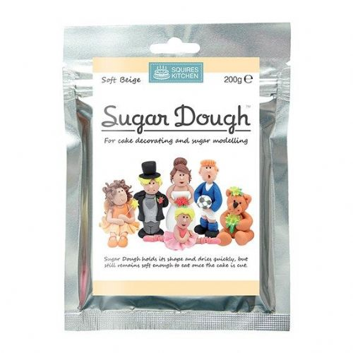 Squires Kitchen - Soft Beige Sugar Dough - 200g